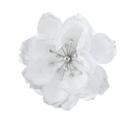 Shop Hair Accessories - Flowers - Feathers-  Swarovski Crystals  | Price - $130.00