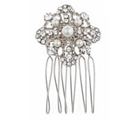 Shop Hair Accessories - comb - Swarovski Crystal | Price - $90.00