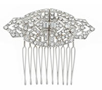Shop Hair Accessories - comb - Swarovski Crystal | Price - $170.00
