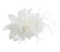 Shop Hair Accessories - Flowers - Feathers-  Swarovski Crystals  | Price - $225.00