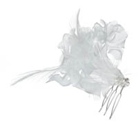 Shop Hair Accessories - Flowers - Feathers-  Swarovski Crystals  | Price - $90.00