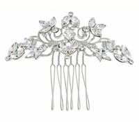 Shop Hair Accessories - comb -  Swarovski Crystals | Price - $187.00