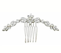 Shop Hair Accessories - comb -  Swarovski Crystals-pearls | Price - $150.00