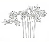 Shop Hair Accessories - comb -  Swarovski Crystals | Price - $150.00