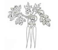 Shop Hair Accessories - comb -  Swarovski Crystals | Price - $125.00