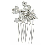 Shop Hair Accessories - comb -  Swarovski Crystals | Price - $100.00