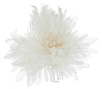 Shop Hair Accessories - Flowers - Feathers-  Swarovski Crystals  | Price - $150.00