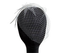 Shop Hair Accessories - French Veiling-  Swarovski Crystals  | Price - $230.00