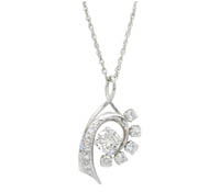 Chester Diamond Pendant - Occassion and Bridal Jewelry | Price - $5,333.75