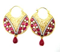 Shop honeymoon Accessories-costume-earrings-exotic-wedding | Price - $275.00
