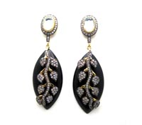 Shop honeymoon Accessories-costume-earrings-exotic-wedding | Price - $280.00