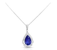 Tanzanite and Diamond Pendant | Price - $5,138.00
