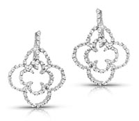 Moss Diamond Earrings- Fine Jewelry Earrings | Price - $4,080.00
