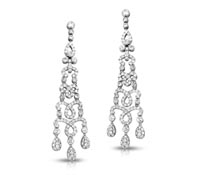 Sonia Earrings Diamond Chandelier Earrings - Fine Earrings | Price - $7,995.00