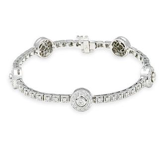 Fairmont Bracelet Wedding Special Occasion Fine Jewelry Fine