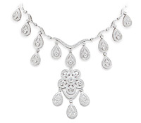 Lockwood Diamond Chandelier Necklace - Occasion Jewelry  | Price - $21,995.00