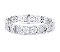 Vintage Diamond Bracelet: Shop Jewelry for Special Occasions | Price - $9,455.00
