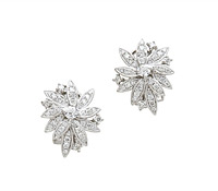 Shaye Diamond Cluster Earrings - Shop Special Occasion Jewelry! | Price - $4,835.00