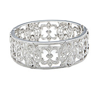 Shop Fine Jewelry: Diamond Cuff Bracelet | Price - $20,895.00