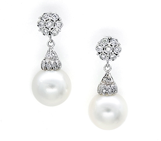 Hartley Earrings Bridal Jewelry and Accessories Fine Jewelry