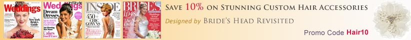 Save 10% on Adorn's Brides Head Revisited collection